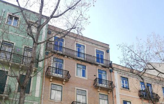 Número 29 da Rua Gonçalves Crespo (no meio) será reabilitado / MK Premium