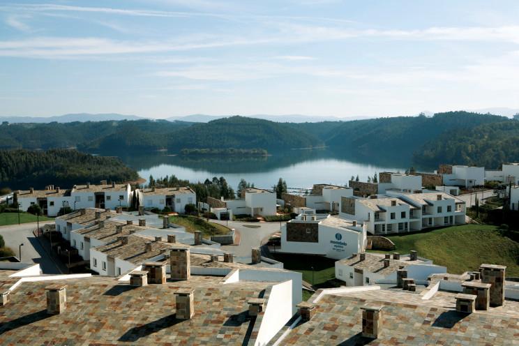 MontebeloAguieira, resortde 5estrelas em Mortágua, que promete taxa de rentabilização de 5%, face ao investimento. / Visabeira