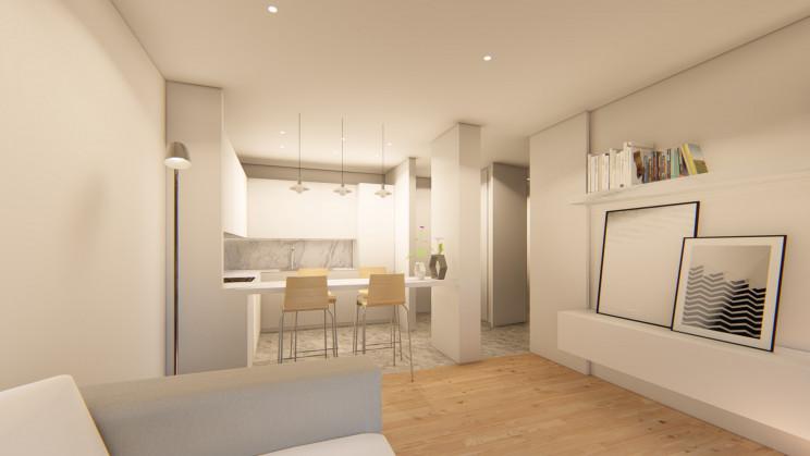 O Ramalde Residence tem associado o financiamento bancário. / Grupo Omega