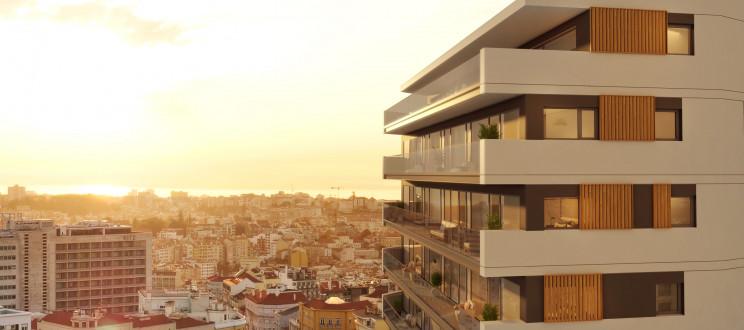 (Mais) casas de luxo a nascer em Lisboa, nas Amoreiras