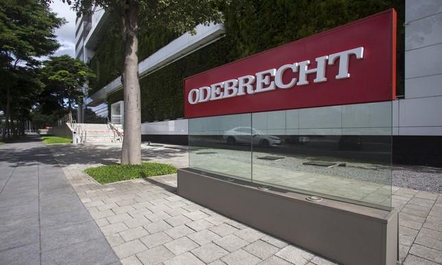 Sede da Odebrecht em São Paulo, Brasil / Edilson Dantas via O Globo