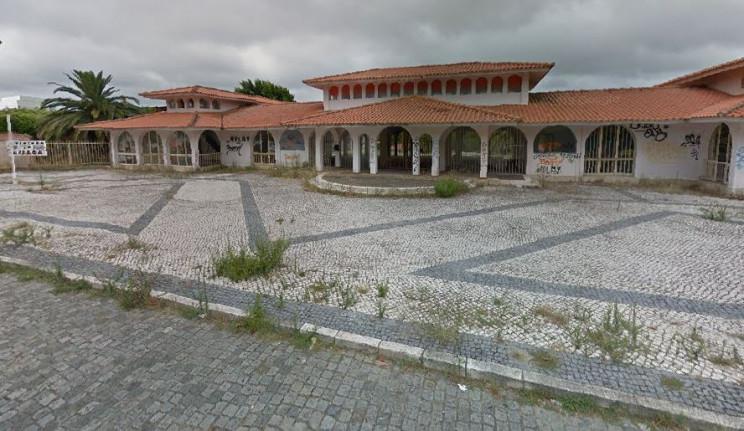 O Aquaparque abandonado / Google Maps
