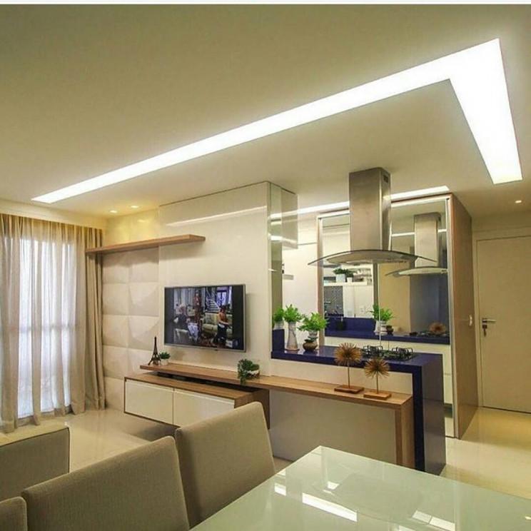 Exemplo de um tipo de iluminação embutida / http://www.nuancedesign.com.br via MElOM