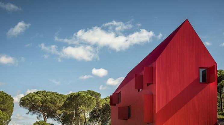 Um dos projetos vencedores na categoria Conceitos - Plus - Arquitetura + Cor