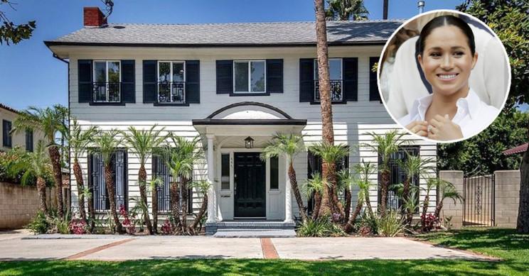 Casa encontra-se em Hancock Park, Los Angeles