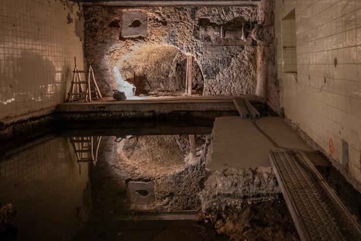 A estrutura romana só abria ao público duas vezes por ano / Ana Luísa Alvim/ CML via Facebook