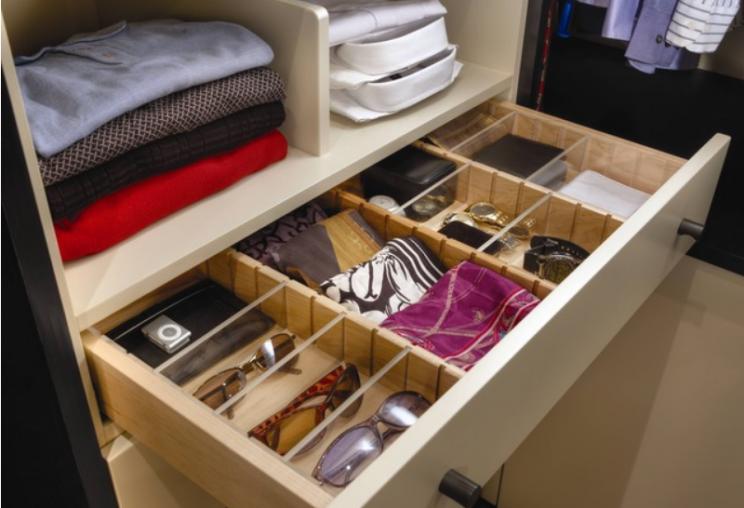 Um método prático para organizar o guarda roupa