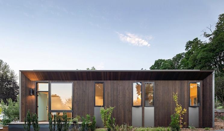A Casa Pré Fabricada E Ecológica De Seattle Criada Para