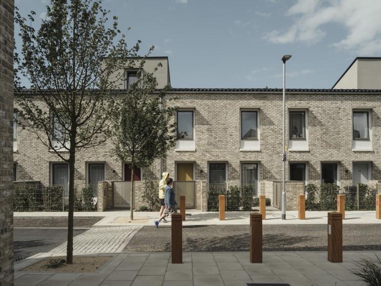 Um projeto de casas passivas no Reino Unido