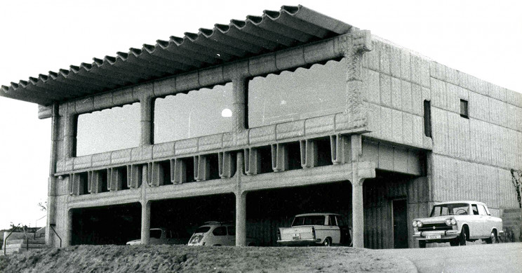 A casa do arquiteto espanhol na zona de Cerro del Aire / Fundación Miguel Fisac