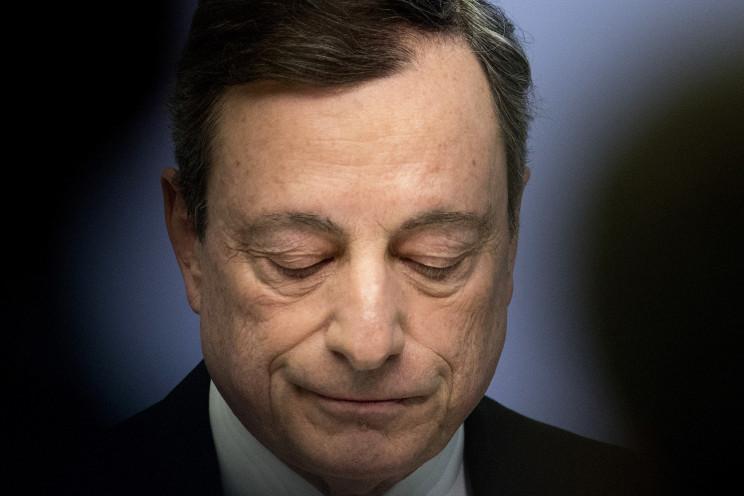 Mario Draghi, presidente do BCE / Gtres