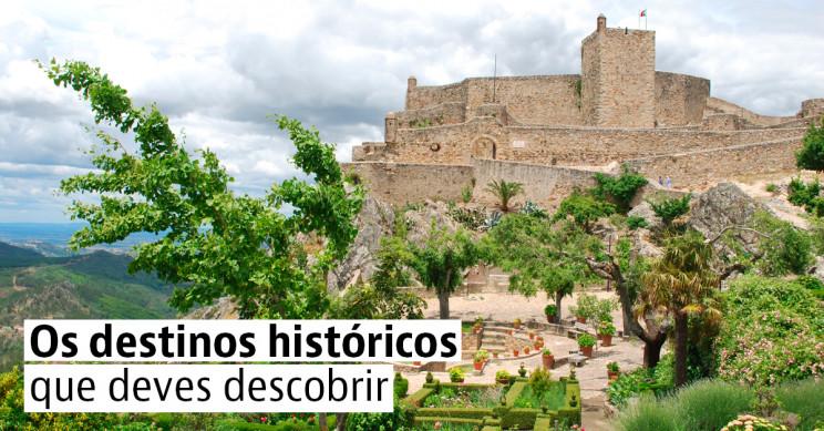 Os impressionantes castelos de Portugal