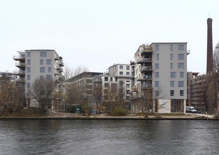 Spreefeld Berlin / Arcdaily