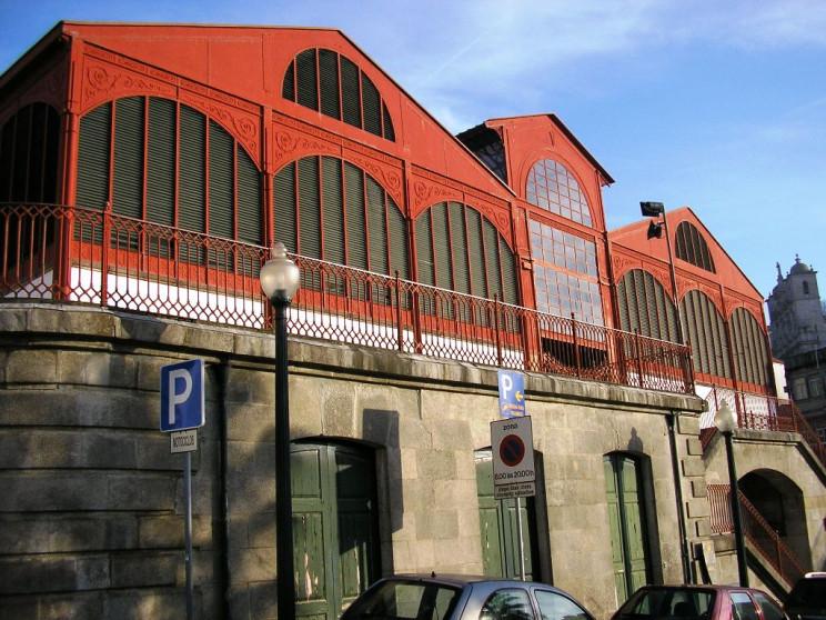 Mercado Ferreira Borges no Porto. / Wikipedia