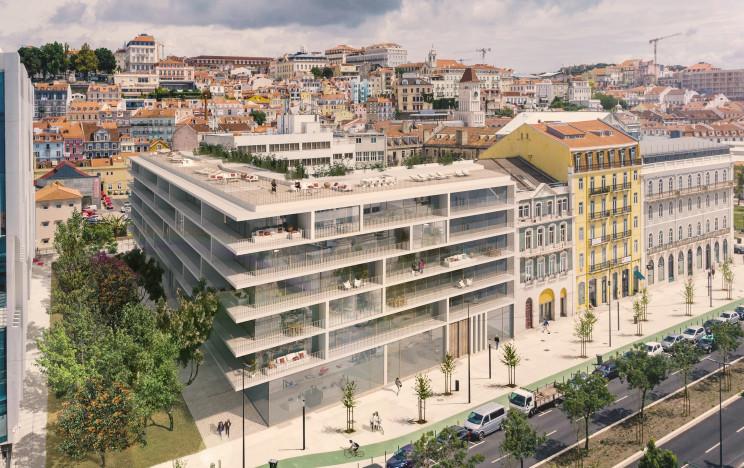 Assim será o Promenade, na Avenida 24 de Julho, em Lisboa / AM 48