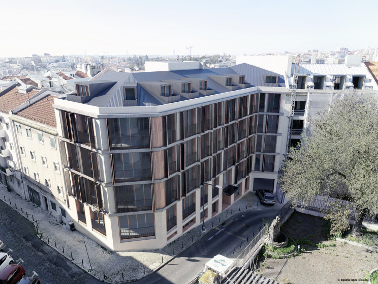 Assim será a fachada do YUP, que vai nascer na Rua Padre Luís Aparício, nº3 / Porta da Frente|Christie's