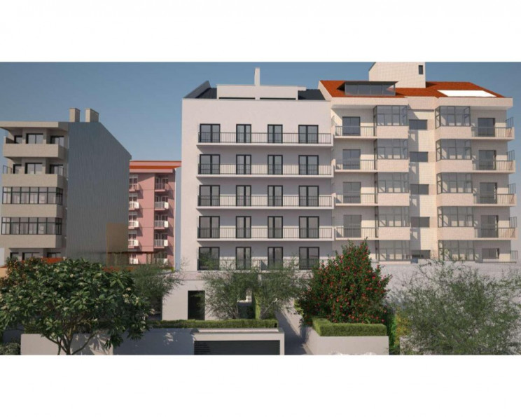 Edifício na Rua Serpa Pinto, na zona da Ramada Alta, no Porto. / Imo Equity