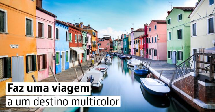 As 4 cidades mais coloridas da Europa