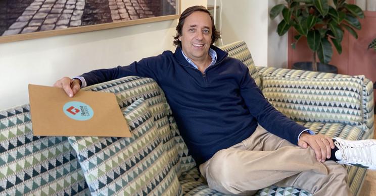Miguel Tilli, CEO da imobiliária que inaugura hoje espaço no Chiado. / HomeLovers