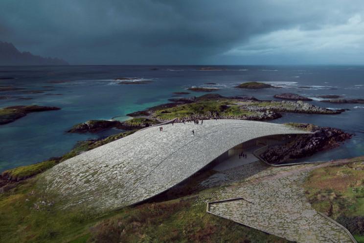 Será construído na ilha norueguesa de Andøya