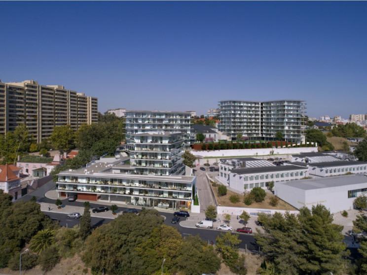 Villas do Carmo, em Sete Rios/Praça de Espanha, é o primeiro grande projeto da Forus / Prime Avenue