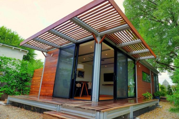 Modelo de casa pré-fabricada / KitHaus