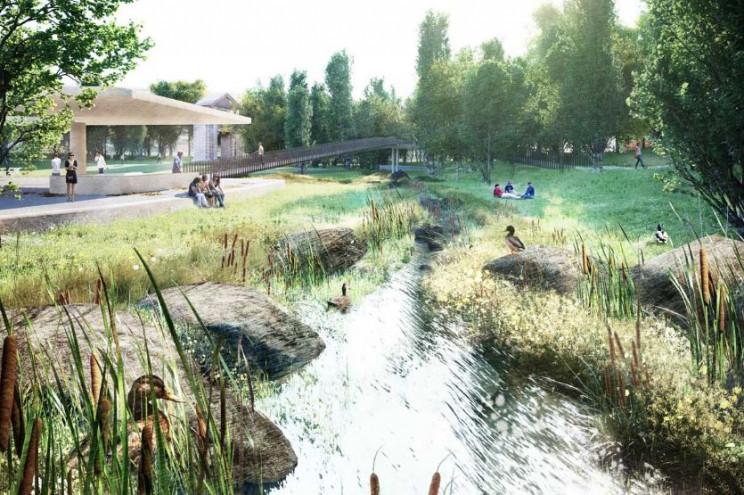 O futuro jardim deverá estar pronto no final do ano / CML