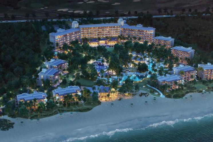 Novo projeto da cadéia de hotéis Hilton / Conrad Punta de Mita