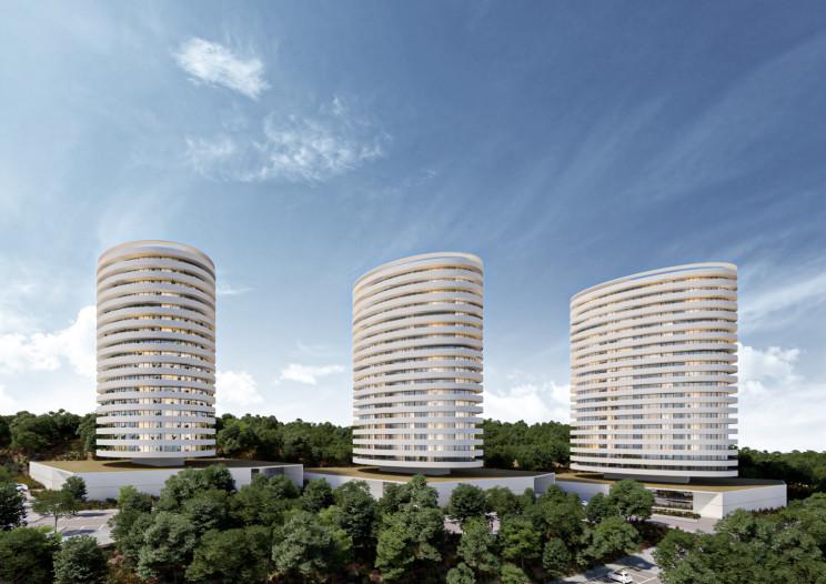 Projetoda responsabilidade da equipa de projetistas da Saraiva + Associados  / Vanguard Properties