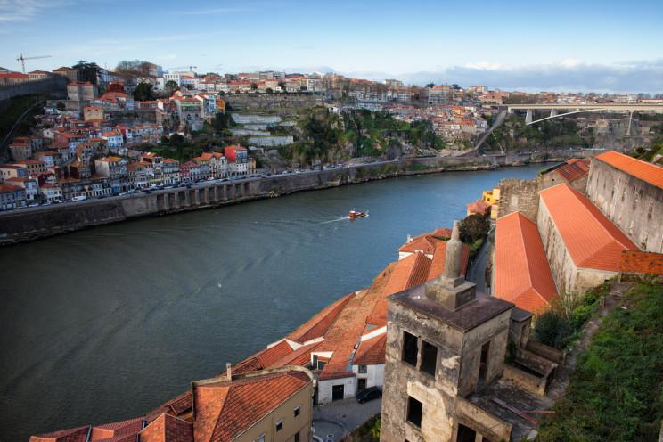 Vista de Vila Nova de Gaia desde o Porto. / Gtres