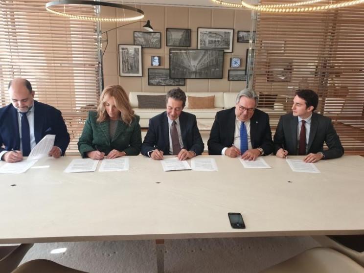 Assinatura da escritura de compra e venda da Herdade da Comporta, em novembro de 2019 / Vanguard Properties