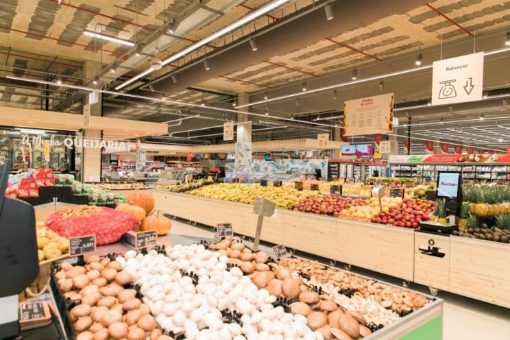 Interior da loja Auchan em Paço de Arcos, onde a nova sede foi construída / Auchan Retail Portugal