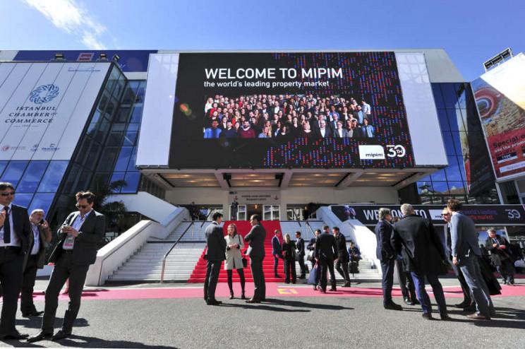 Edição 2019 do MIPIM / Crédito: © V. DESJARDINS / IMAGE&CO