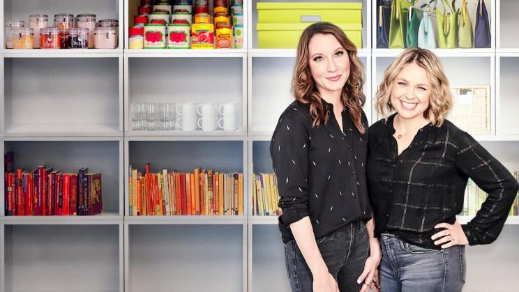 Clea Shearer e Joanna Teplin, fundadoras da empresa The Home Edit / Netflix