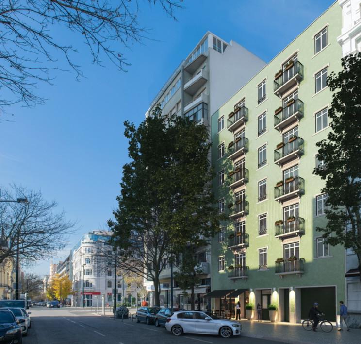 Assim será o Avenida Living, em Lisboa / Rio Capital