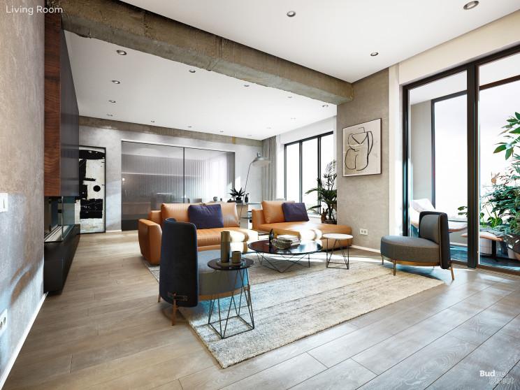 A sala de estar original /  Budget Direct