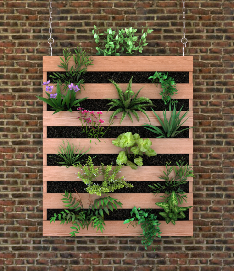 Construir um jardim vertical